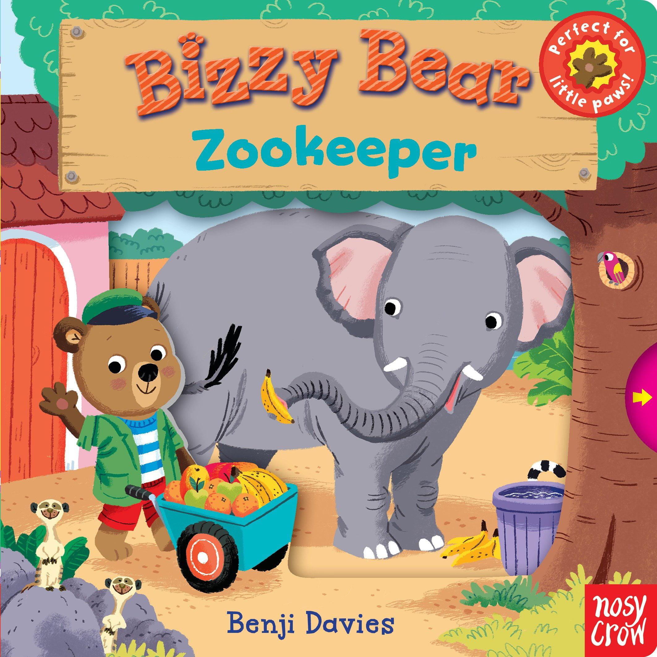 Bizzy Bear: Zookeeper (Board Book)