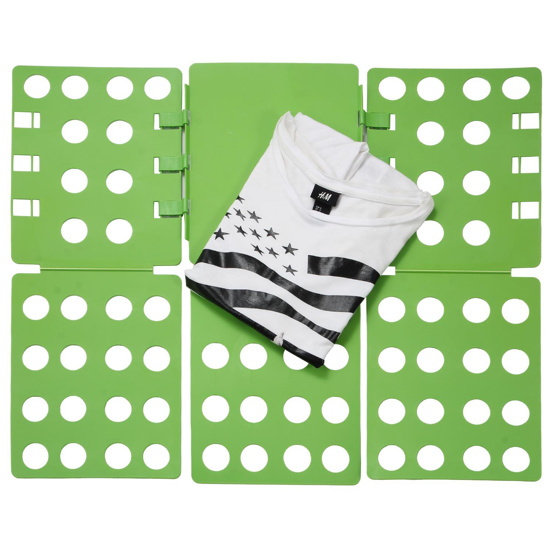 Ollieroo Plastic T-shirt Folder Clothes Folding Board Color Green