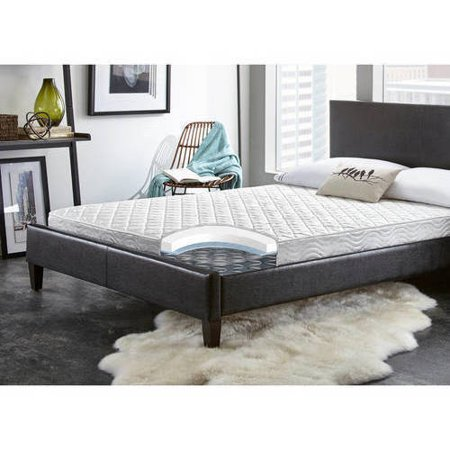 Contura Flex 6  Medium Firm Plush Top Quilted Support Foam And Innerspring Hybrid Mattress Bed  Multiple Sizes