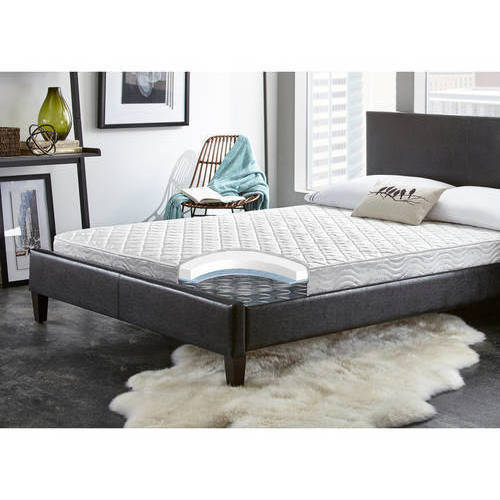 "Contura Flex 6"" Medium Firm Plush Top Quilted Support Foam and Innerspring Hybrid Mattress Bed, Multiple sizes"