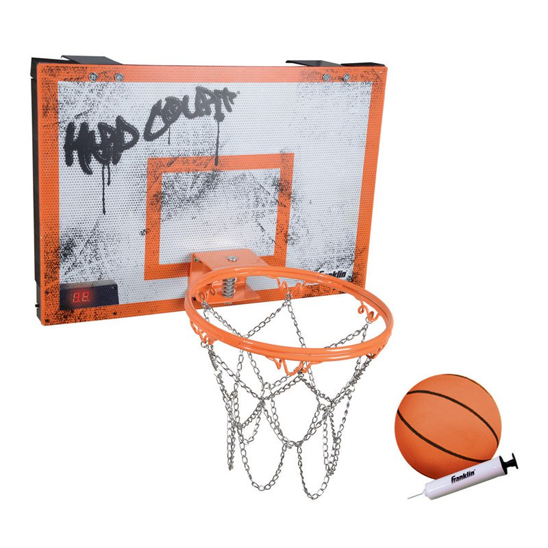 Franklin Sports Hard Court Basketball with Electronics