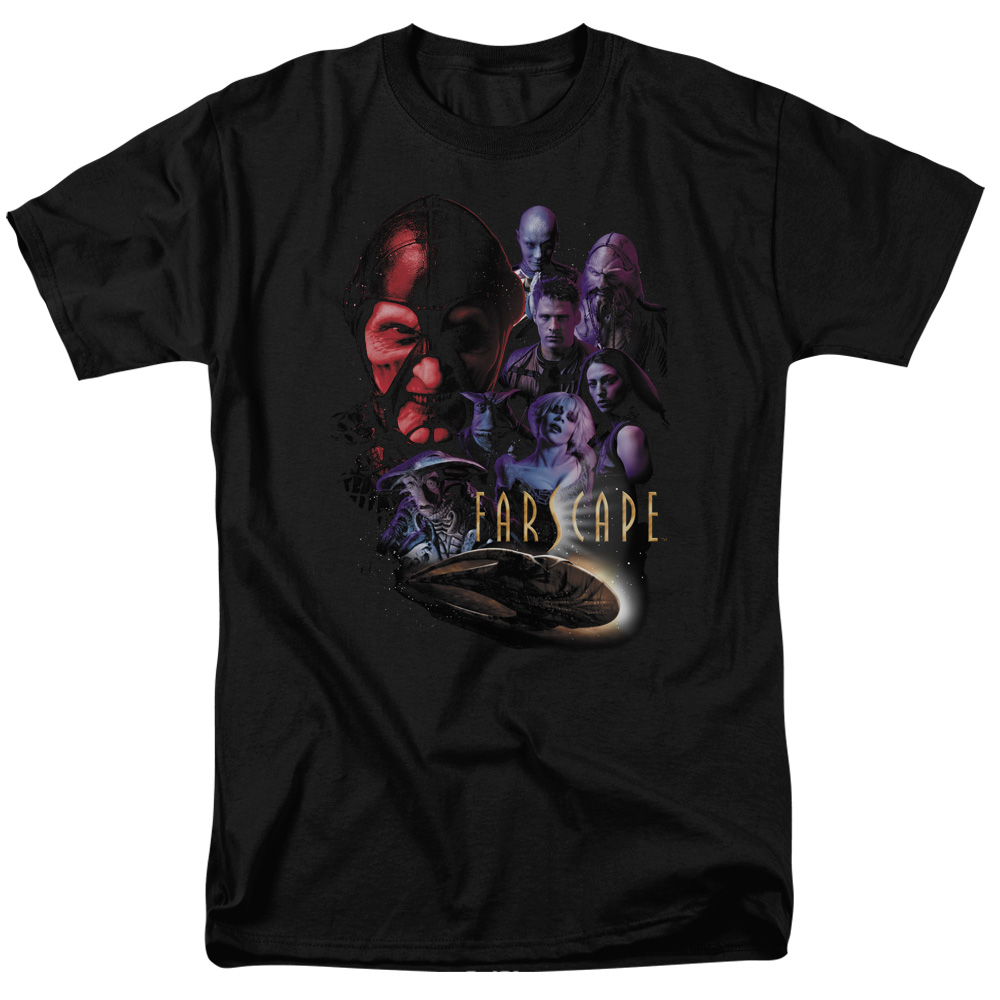 Farscape Criminally Epic Mens Short Sleeve Shirt
