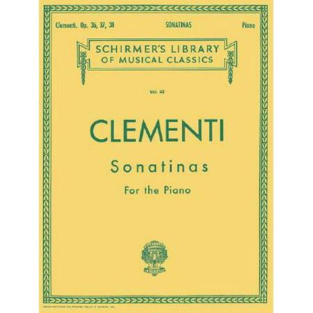 Muzio Clementi: Sonatinas for the Piano, Opus 36, 37, 38