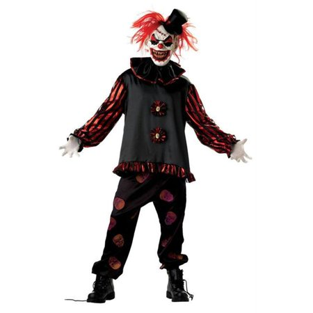 Carver The Clown Costume (Carver The Killer Clown Large)