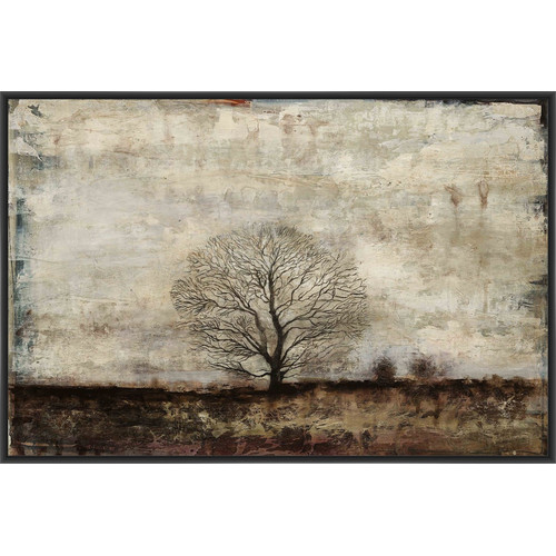 PTM IMages Winter Solstice Framed Painting Print on Canvas