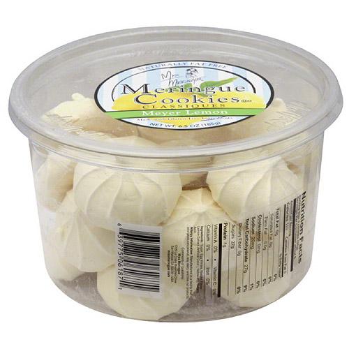 Miss Meringue Classiques Meyer Lemon Meringue Cookies, 6.5 oz, (Pack of 12)
