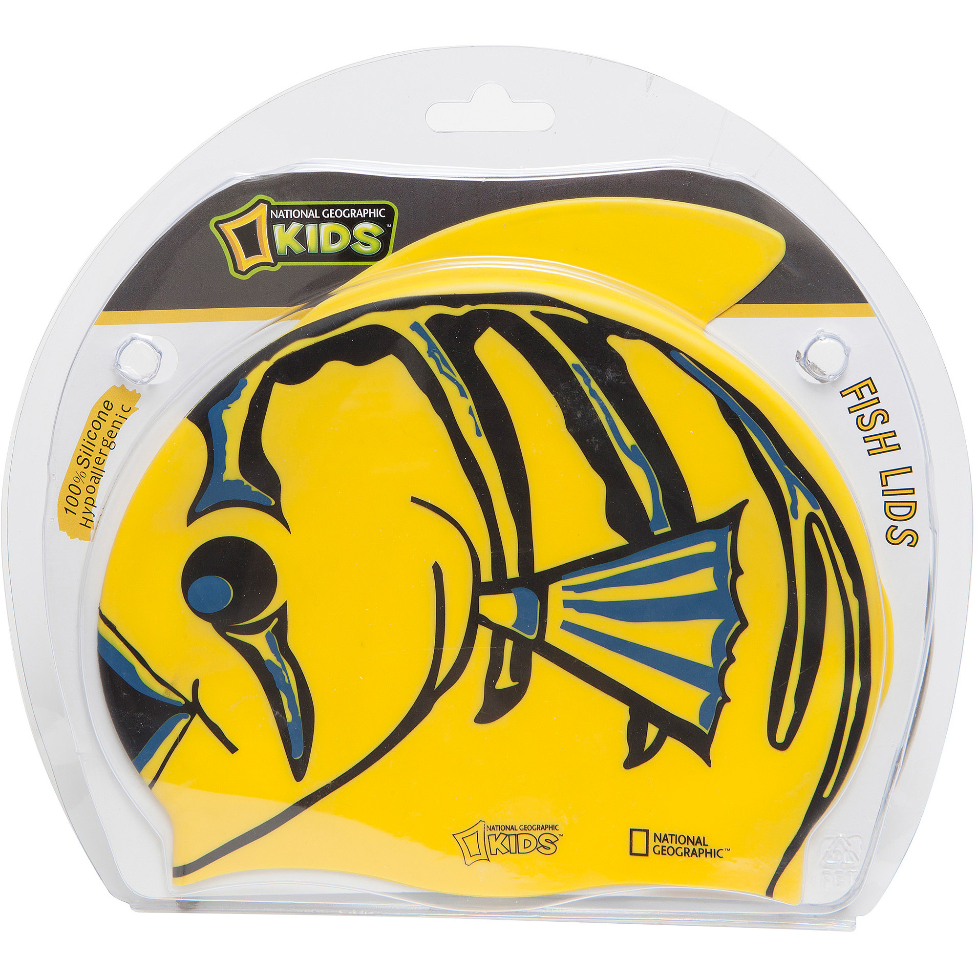 National Geographic Snorkeler Swim Cap Fish Lids, Clown