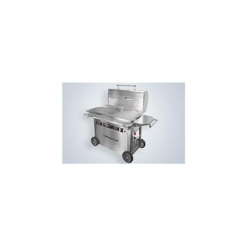 Wilmington Grill WG-CL-2NA-NCG 30'' Classic Stainless Steel Grill - Needs Cooking Surface - Natural Gas
