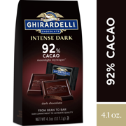 Ghirardelli Intense Dark Chocolate Squares - 92% Cacao  4.1 oz.
