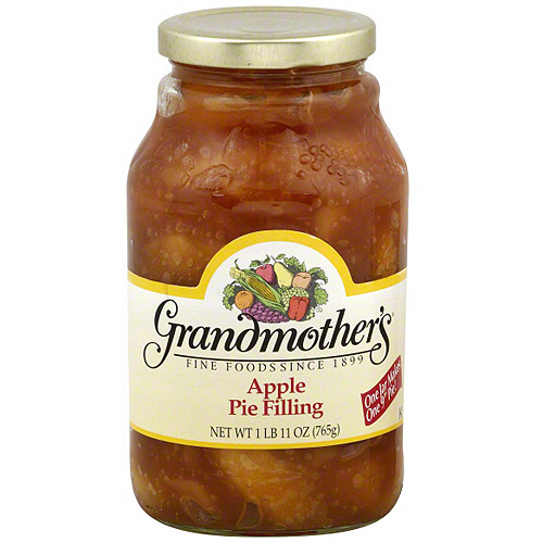 Grandmother's Apple Pie Filling, 27 oz (Pack of 12)