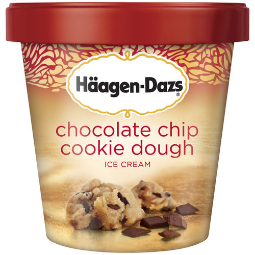 Haagen-Dazs Chocolate Chip Cookie Dough Ice Cream, 16 oz