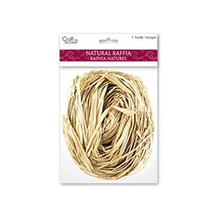 Multicraft Raffia 2oz Natural