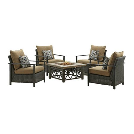 BOND MFG COMPANY 68852 Four Seasons Aspen Gas Fire Table ()