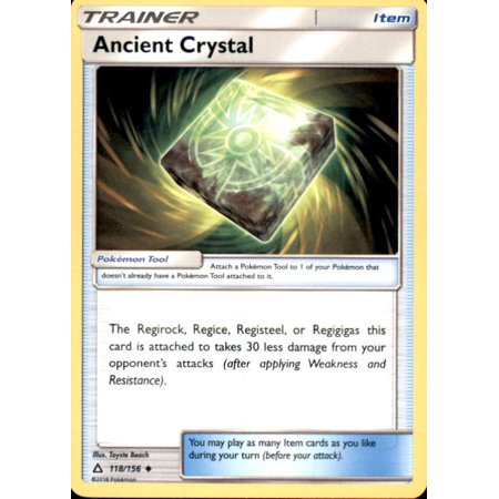 Pokemon Ultra Prism Ancient Crystal #118
