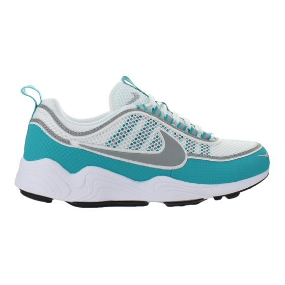 f584fd7d94ef Nike - Mens Nike Air Zoom Spiridon White Turbo Green Laser Orange Silver  8497 - Walmart.com