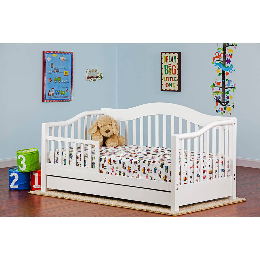 Dream on Me Toddler Day Bed, (Choose Your Finish)