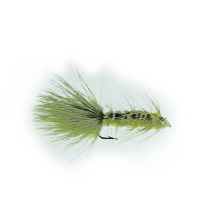 Fly Tying Wooly Bugger (Jackson Cardinal Flies Olive Wooly Bugger)