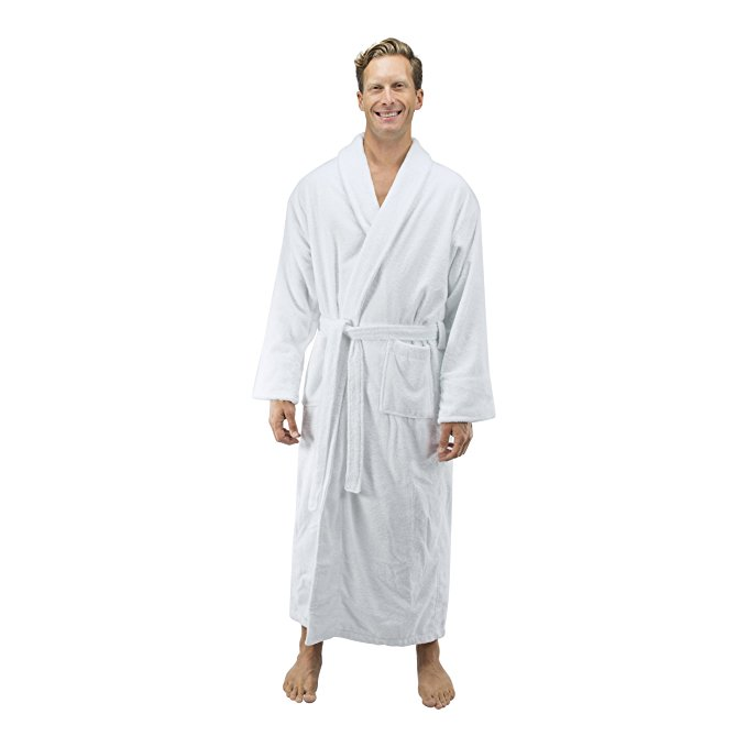 Comfy Robes Personalized Men's 16 oz. Turkish Terry Cotto...