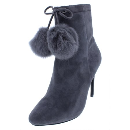 MICHAEL Michael Kors Womens Remi Suede Rabbit Fur (Rabbit Fur Mukluk)