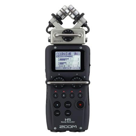 Zoom H5 Portable Handy 4 Track Interchangeable Digital Audio Recorder