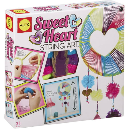 ALEX Toys Craft Sweetheart String Art