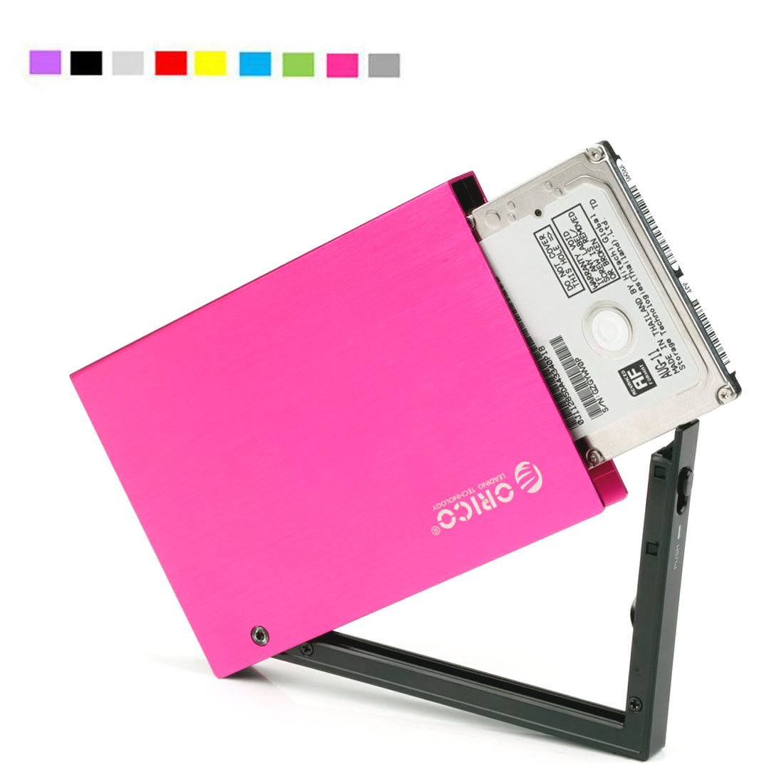 ORICO 25A2 Ultra Slim 2.5-Inch SATA to USB 2.0 External Aluminum HDD/SDD Enclossure