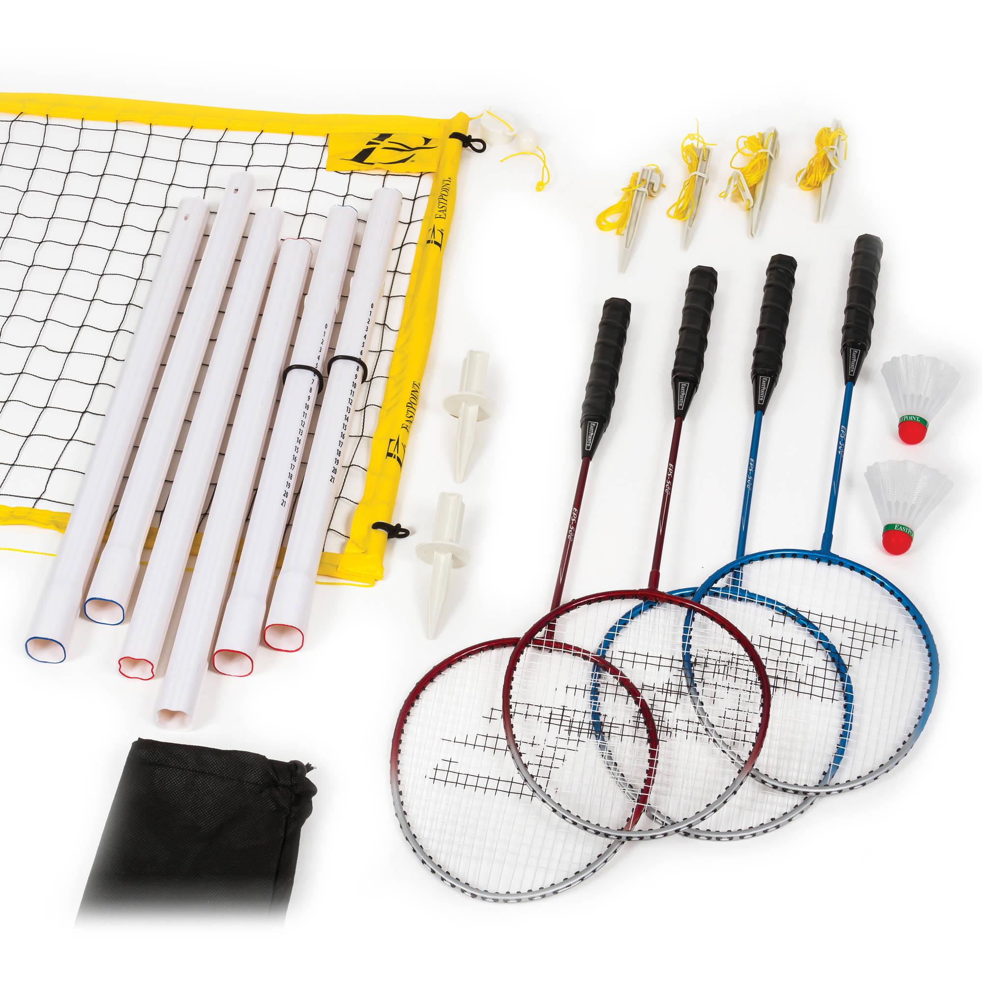 EastPoint Sports Badminton Set with Carry Bag