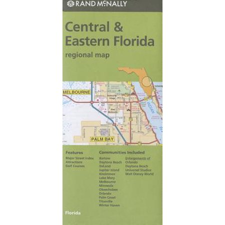 Southwest Florida Map - Folded map central & eastern florida regional: 9780528007903