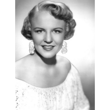 Canvas Print Peggy Lee Composer Songwriter Actress Singer Stretched Canvas 10 x