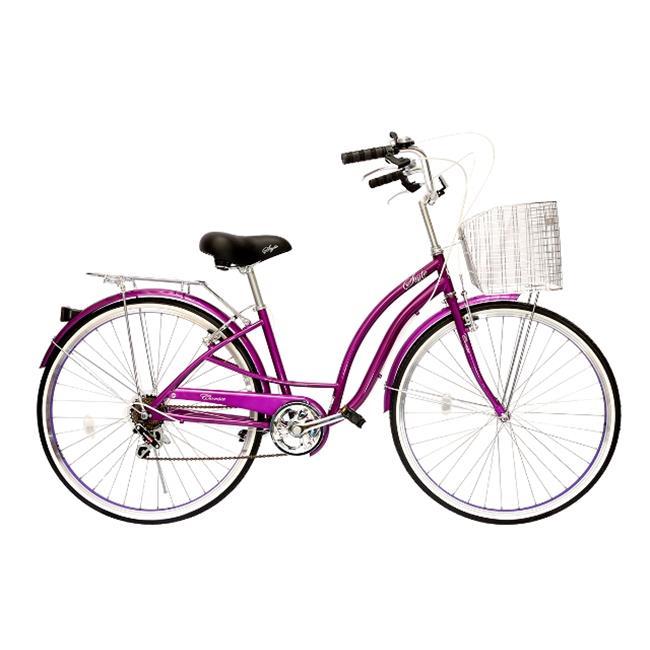 Alton Corsa CSTYLEPUP Style 7-Speed Alloy Frame Comfort Bike, Purple