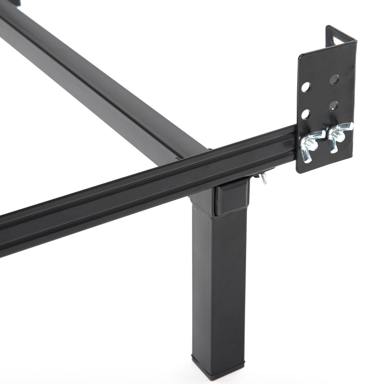 spa sensations compact 7 adjustable metal bed frame walmartcom