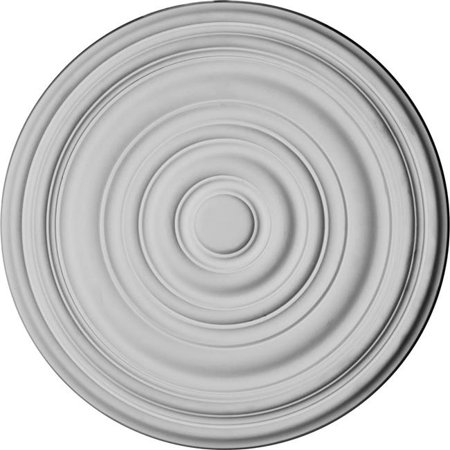 12.63 x 1 in. Carton Ceiling Medallion for Canopies Up to 2.63 in. - image 1 of 1