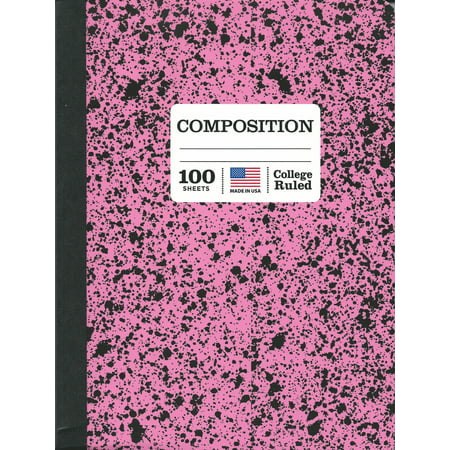 Norcom 100Ct Marble Composition Book  College Ruled
