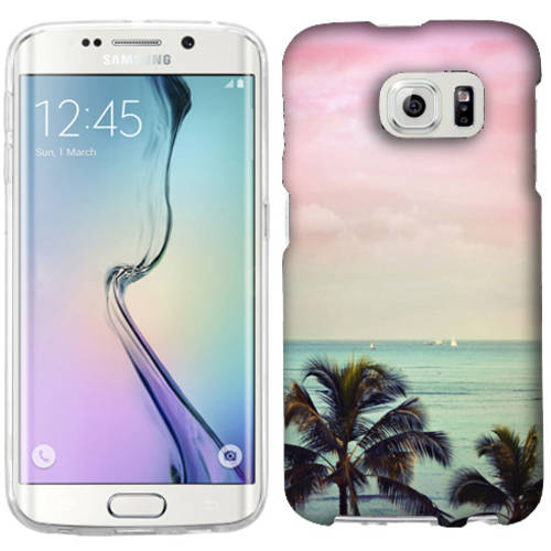 Mundaze Vacation Dreaming Phone Case Cover for Samsung Galaxy S6 edge+