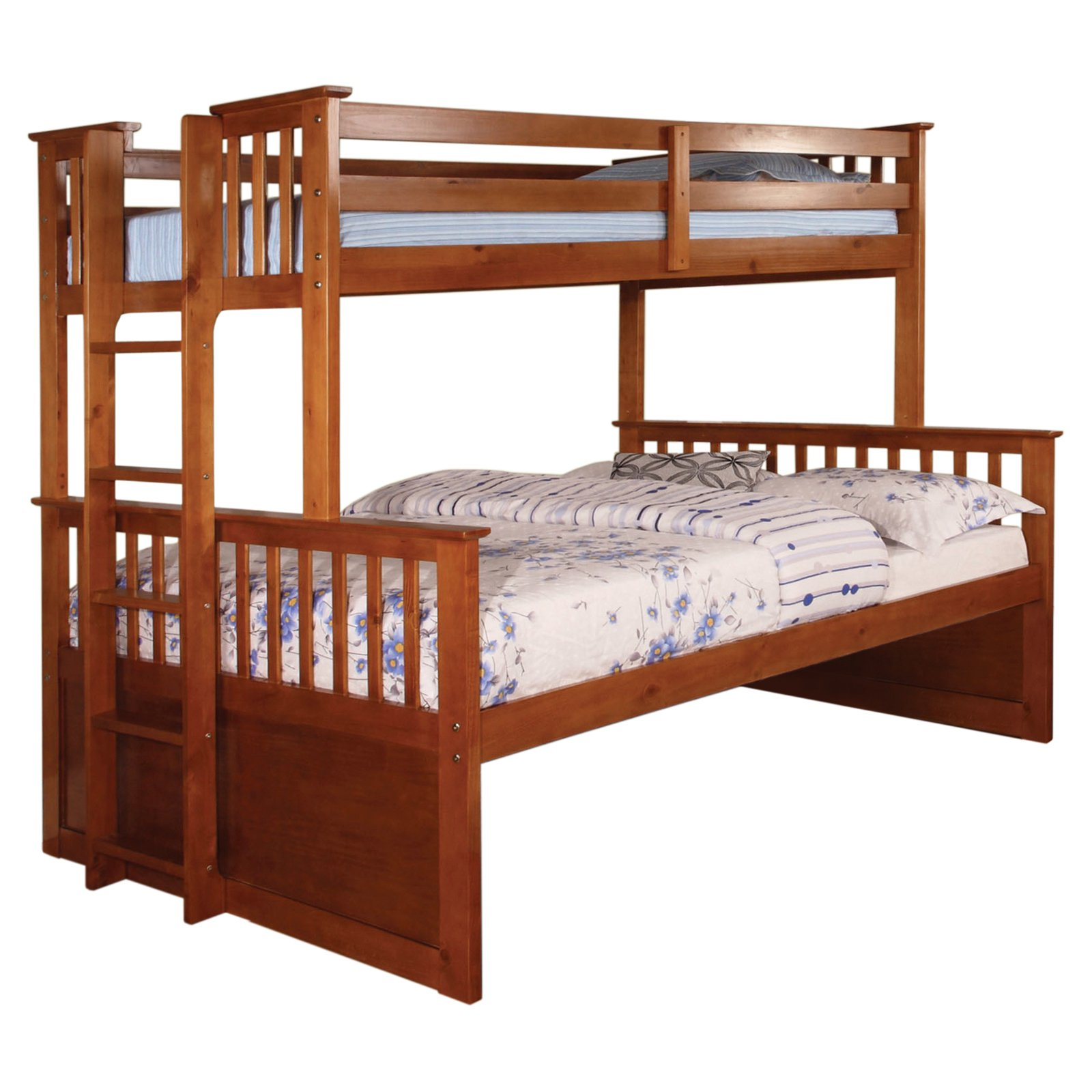 Furniture Of America Williams Twin Xl Over Queen Bunk Bed Walmart Com