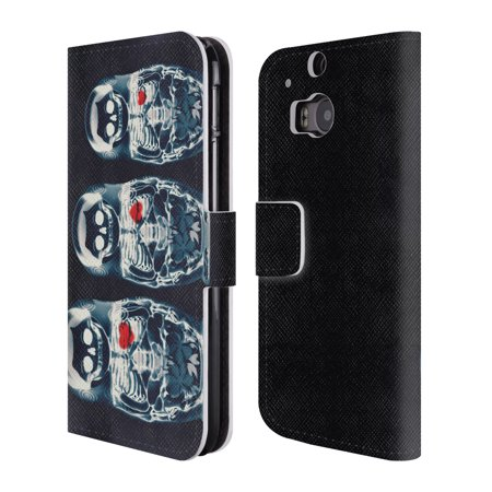 OFFICIAL ALI GULEC WITH A TWIST LEATHER BOOK WALLET CASE COVER FOR HTC PHONES 1