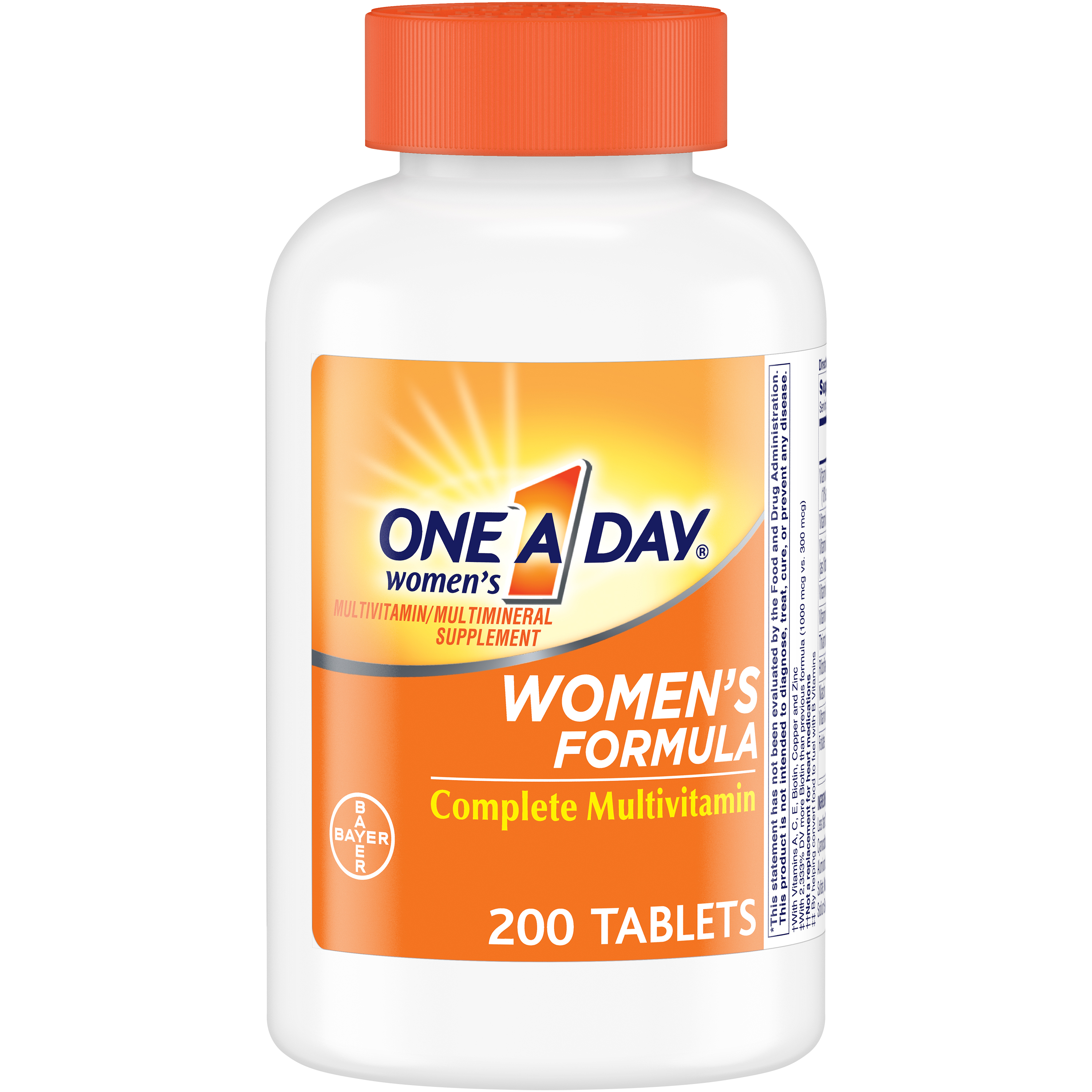 One A Day Women's Multivitamin Supplements with Vitamins A