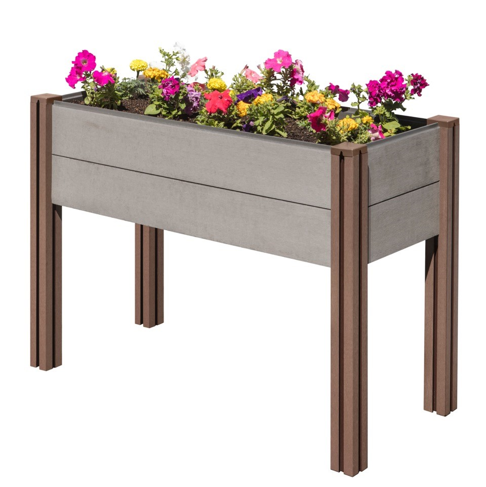 Wood Plastic Composite Elevated Garden Bed