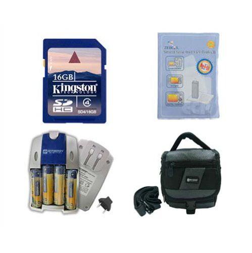 Fujifilm FinePix HS25EXR Digital Camera Accessory Kit inc...