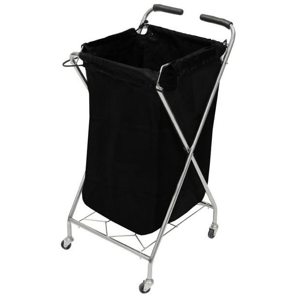 Salon Towel Laundry Basket Holder Trolley Rollabout Cart Tr 39 Walmart Com Walmart Com