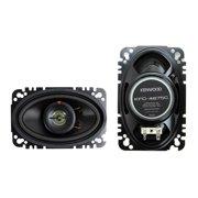 """Kenwood KFC-4675C 60W 4"""" x 6"""" 2-Way Speaker System  (Pair of Speakers)"""