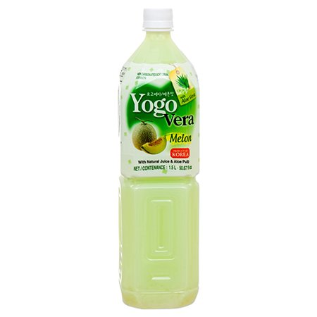 New 366698  Yogo Vera Drink Melon 1.5 L (12-Pack) Juice Cheap Wholesale Discount Bulk Beverages Juice