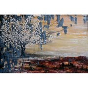 """""""Paradise Lost"""" Painting Print on Wrapped Canvas"""