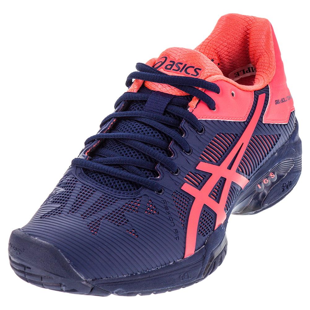 Asics Women`s Gel-Solution Speed 3 Tennis Shoes Indigo Bl...