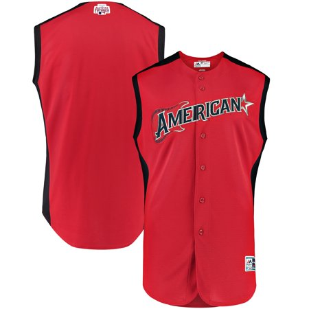 American League Majestic 2019 MLB All-Star Futures Game Jersey - Red/Navy Game Official Mlb Baseball Jersey