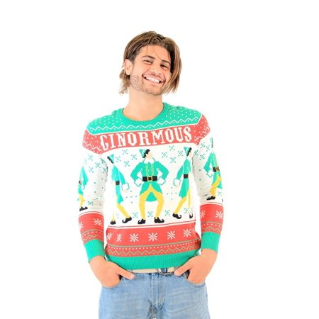 Elf Ginormous Ugly Christmas Sweater