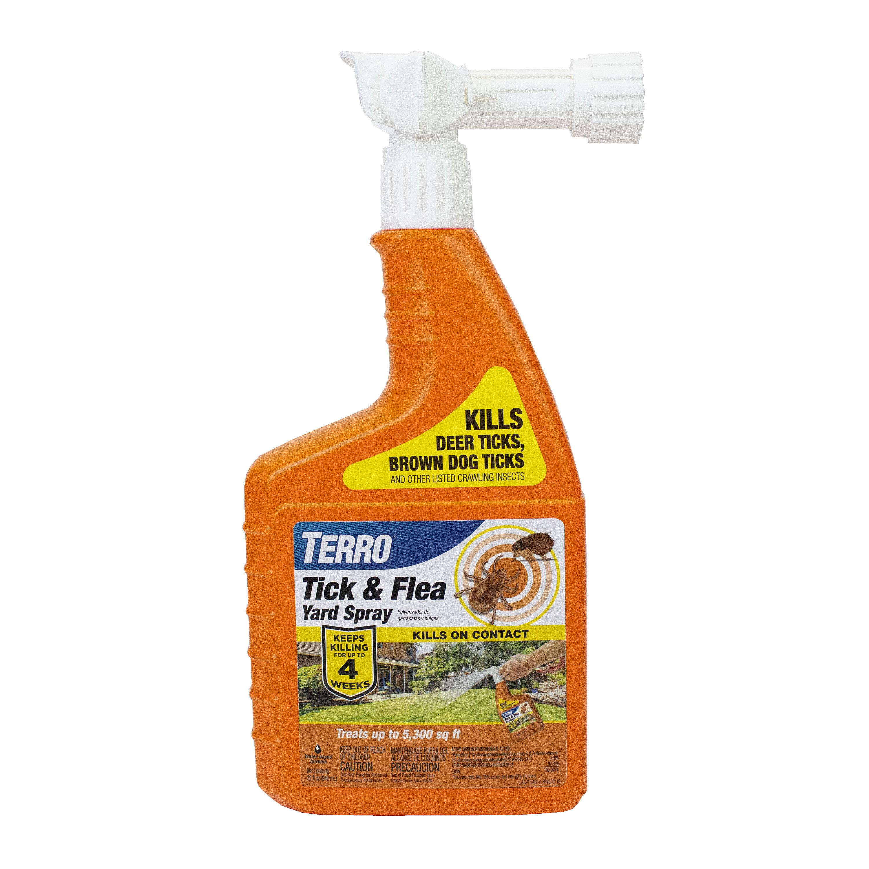 TERRO Tick and Flea Yard Spray - 32 oz - Walmart.com ...
