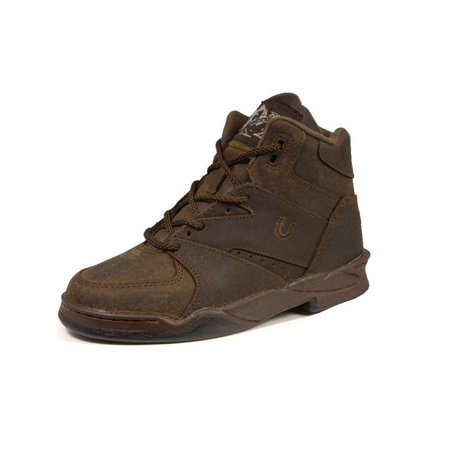 Roper Western Boots Mens Hiker Suede Lace 13 D Tan 09-020-0320-0620