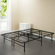 Spa Sensations Steel Smart Base Bed Frame Black, Multiple Sizes