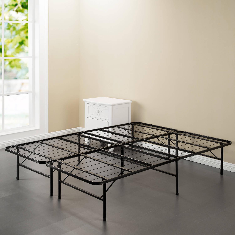 Spa Sensations Steel Smart Base Bed Frame Black, Multiple Sizes - Walmart.com